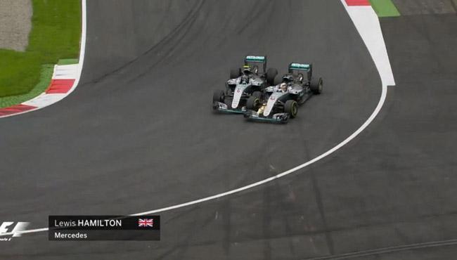 """Falha nos freios ou manobra """"a lá Schumacher""""? FOTO: www.eurosport.com"""