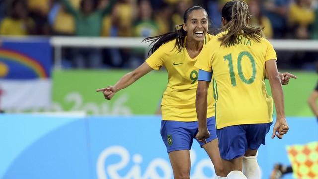 O time feminino do Brasil e sua epopeia olímpica. FOTO: Rio 2016