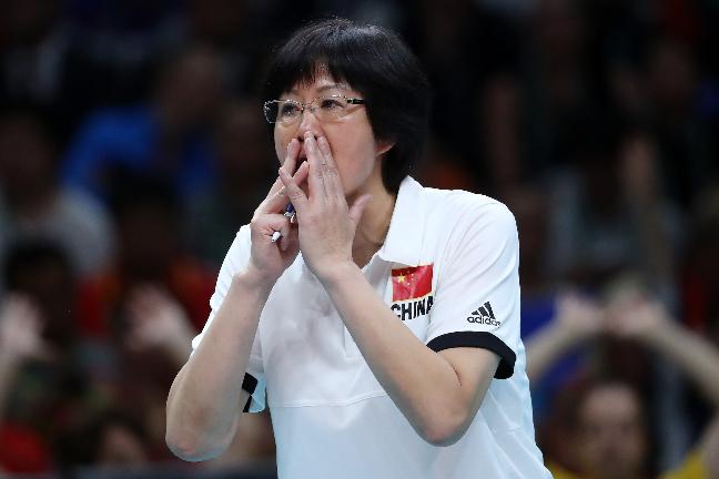 Campeã Olímpica como jogadora e treinadora, Lang Ping entra para a história FOTO: Getty Images/Buda Mendes