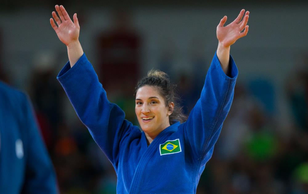 Com o resultado de Mayra, judô brasileiro conquista sua segunda medalha no judô dos Jogos Rio 2016. FOTO: Rio2016/Gabriel Nascimento