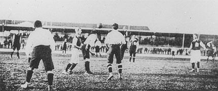 Vitória da Grã Bretanha por 4x0 sobre a França, nos jogos de Paris. FOTO: wikipedia