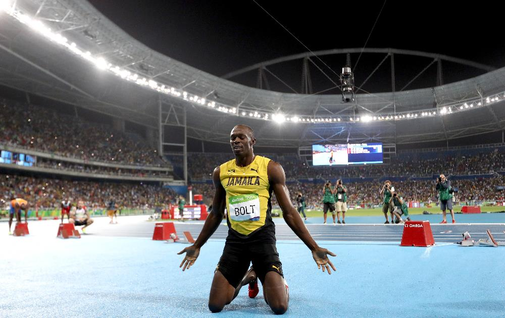 Bolt coleciona oito ouros Olímpicos e ainda vai buscar o nono. FOTO: Getty Images/Ezra Shaw