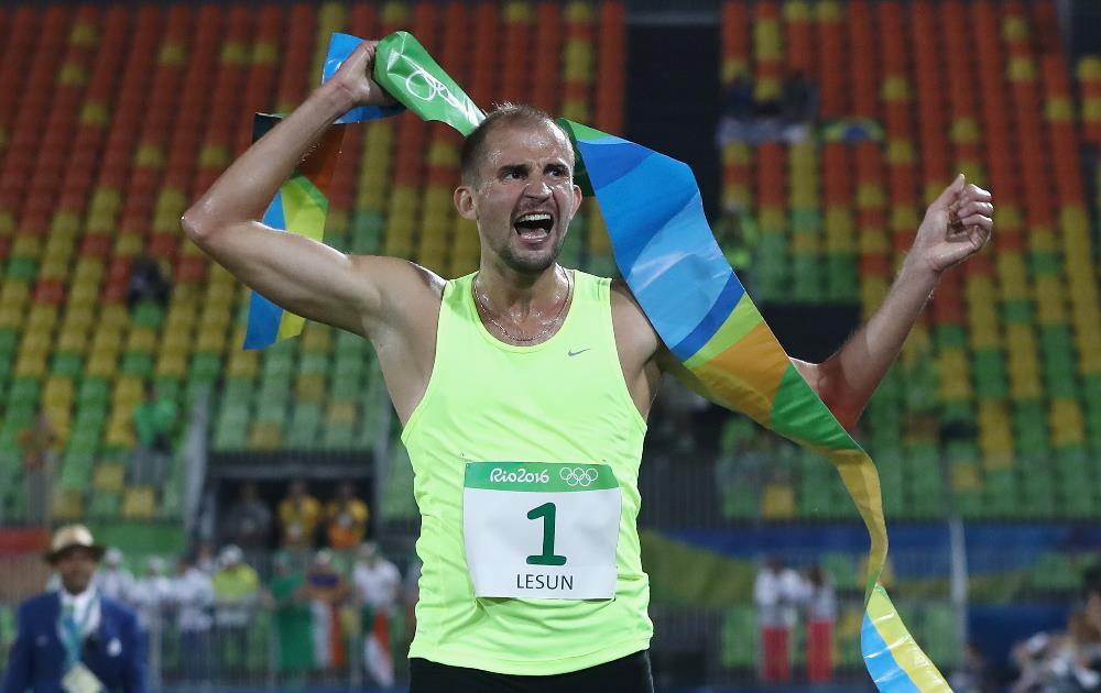 Russo Alexander Lesun quebrou o recorde Olímpico de pontos do pentatlo moderno FOTO: Getty Images/David Rogers
