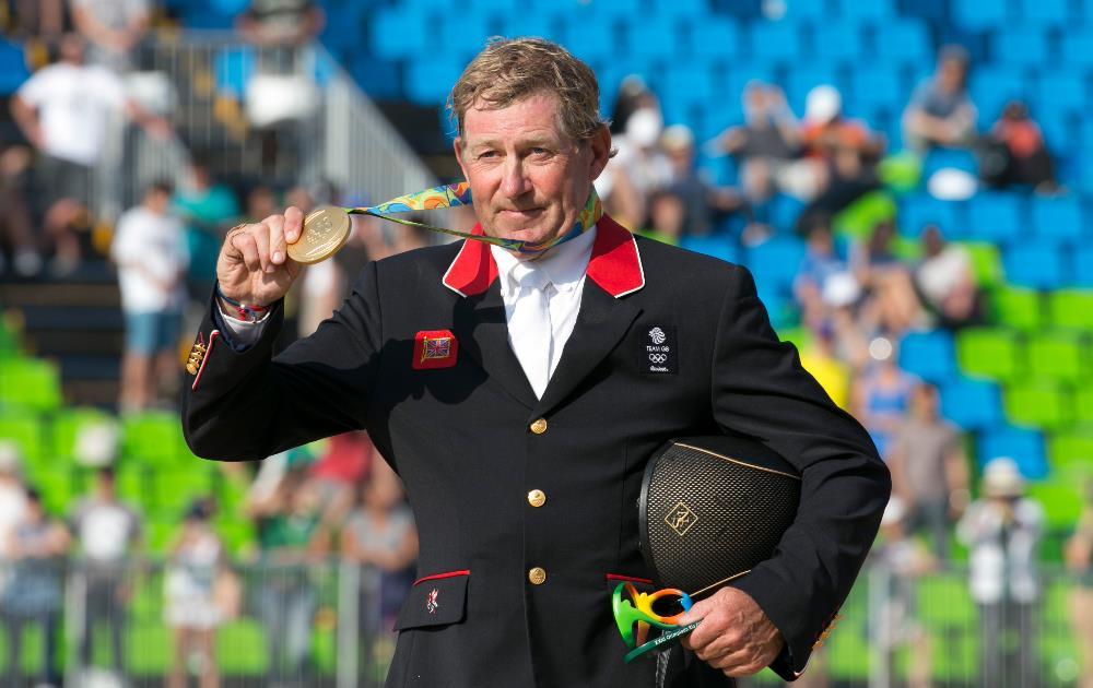 Nick Skelton, de 58 anos, é o campeão mais velho do hipismo nos Jogos Olímpicos FOTO: Rio 2016/Felipe Varanda