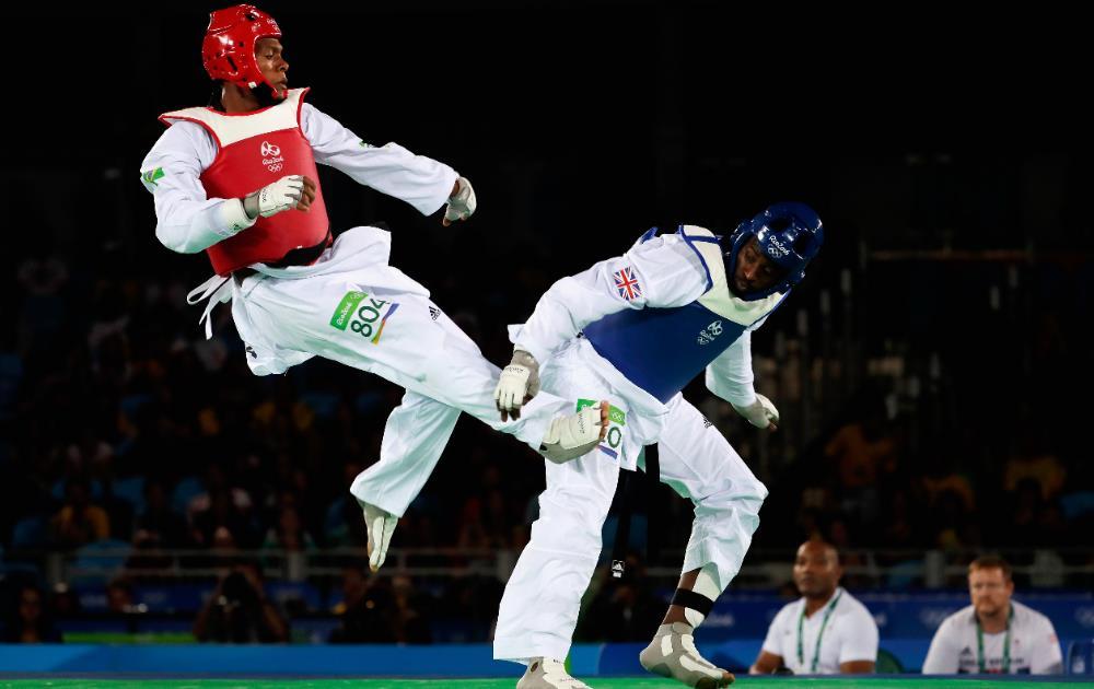 Maicon de Andrade surpreendeu na categoria acima de 80kg e levou o bronze FOTO: Getty Images/Jamie Squire