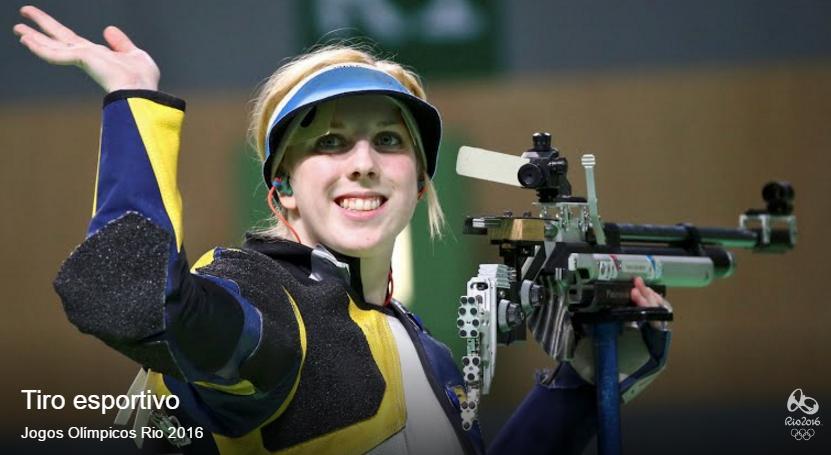 A surpreendente Trascher conquista o primeiro ouro dos jogos. FOTO: Rio 2016