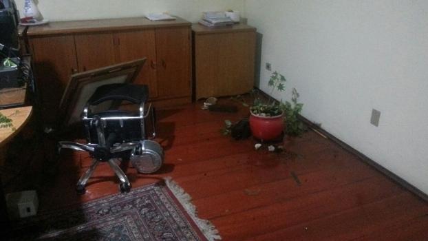 Quebradeira na sede da Lusa. FOTO: ESPN