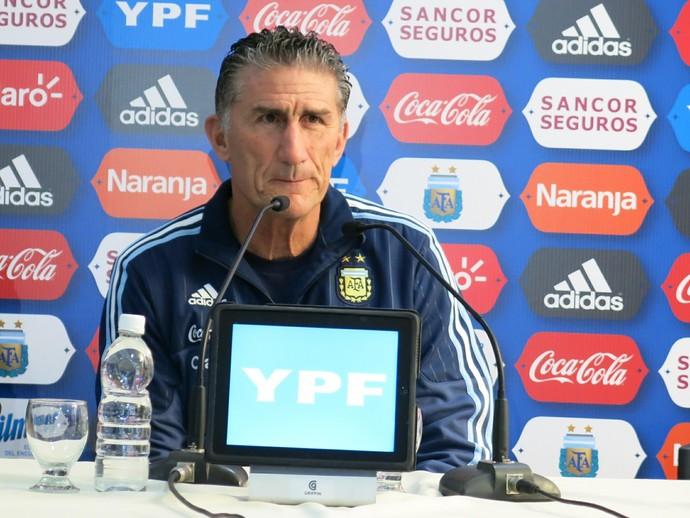 Edgardo Bauza fará estreia na seleção argentina. FOTO: Jorge Natan