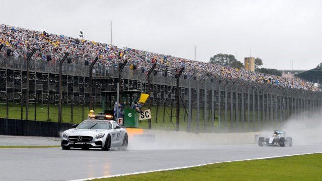 Largada do GP do Brasil. FOTO: formula1.com