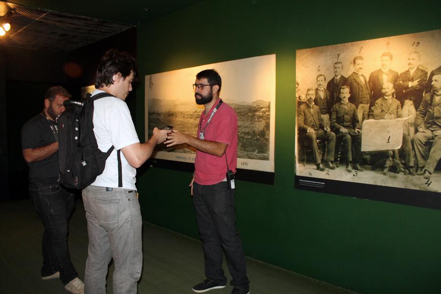 Apresentação do museu do futebol