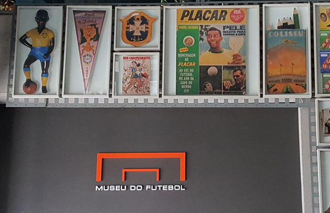 Um pouco da história do esporte nacional no Museu do Futebol