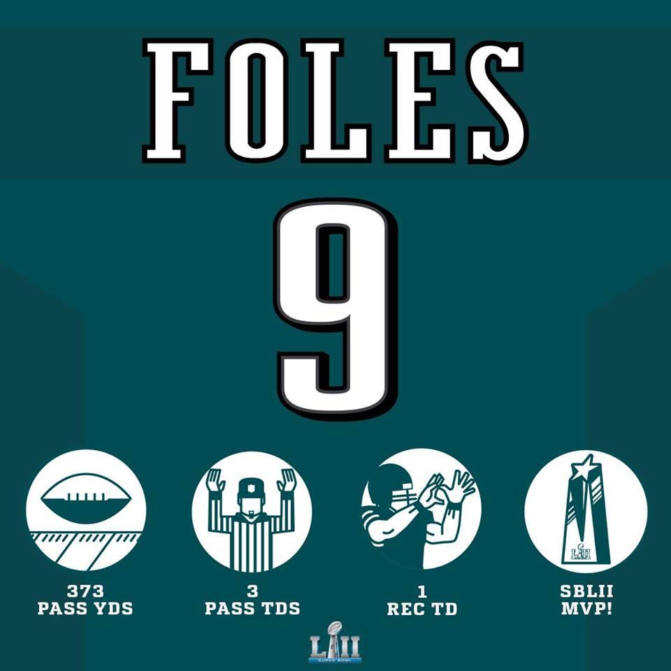 Nick Foles MVP