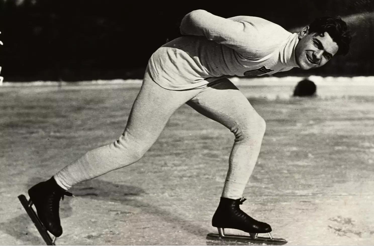 Charles Jewtraw o primeiro campeão olímpico de inverno.