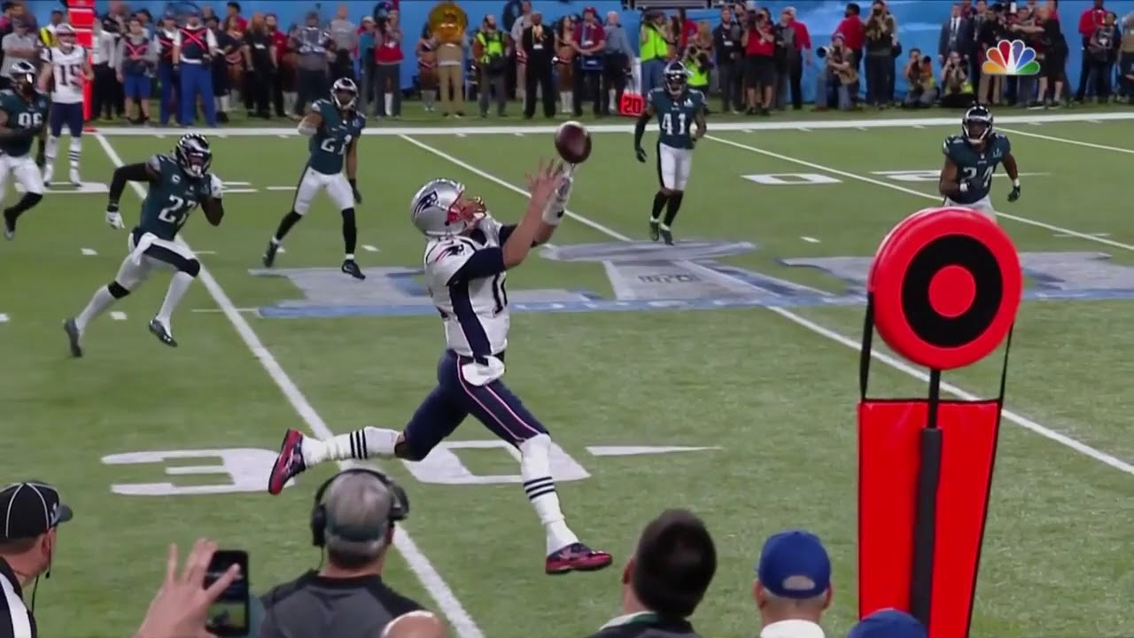 Tom Brady dropou na sua trick play.
