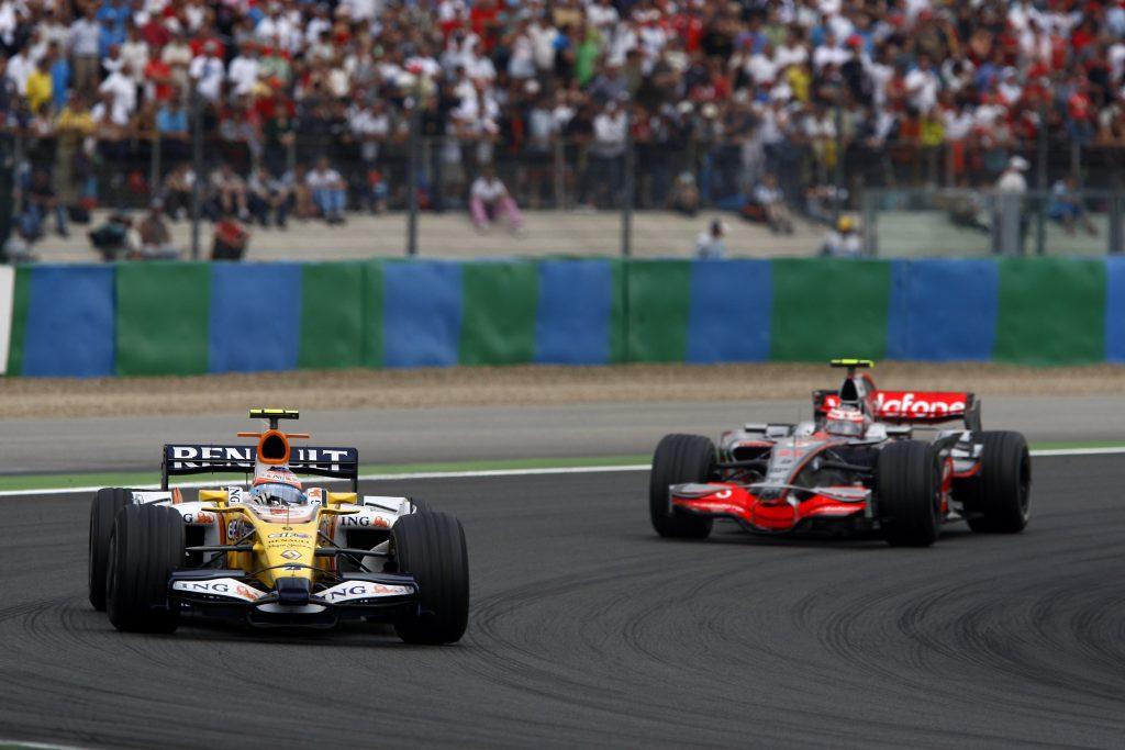 Nelsinho Piquet também se destacou no GP da França de 2008.