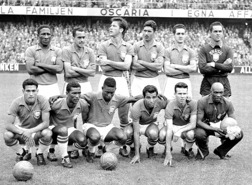 Um dos maiores onze que o Brasil já teve.