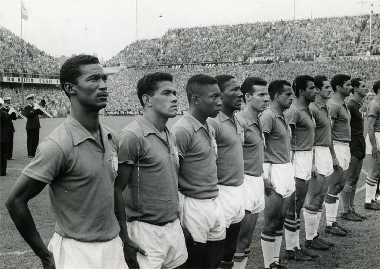 Brasil perfilado em 58.